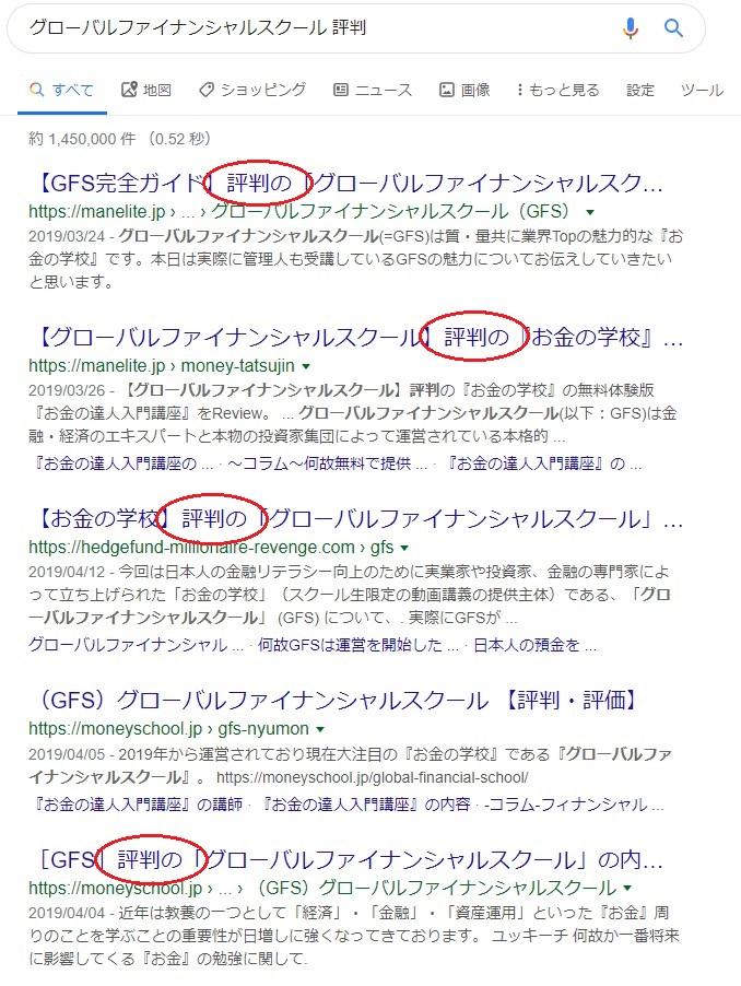 グローバルファイナンシャルスクール(GFS) 口コミ・評判 title=