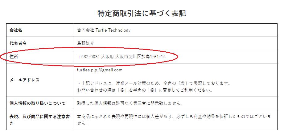 合同会社Turtle Technology 会社情報
